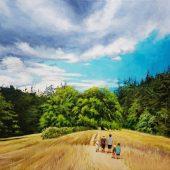 Coast Gallery Salt Spring Island - Artist Joyce Upex